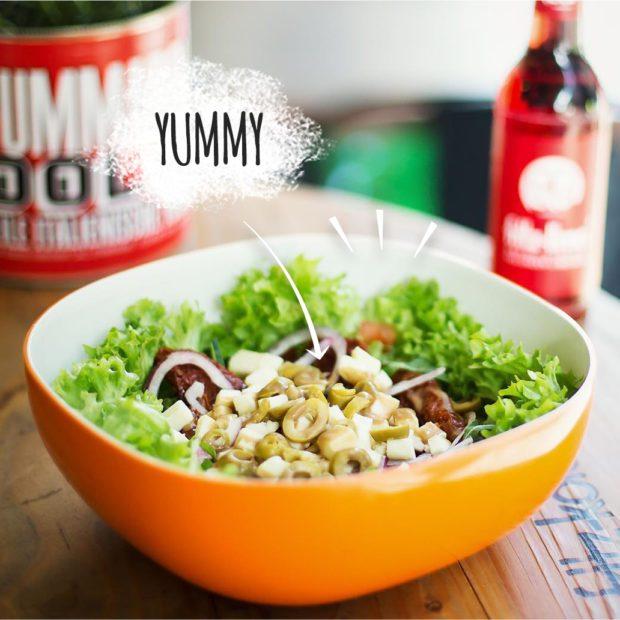 Frischer Salat von Supasalad in Köln